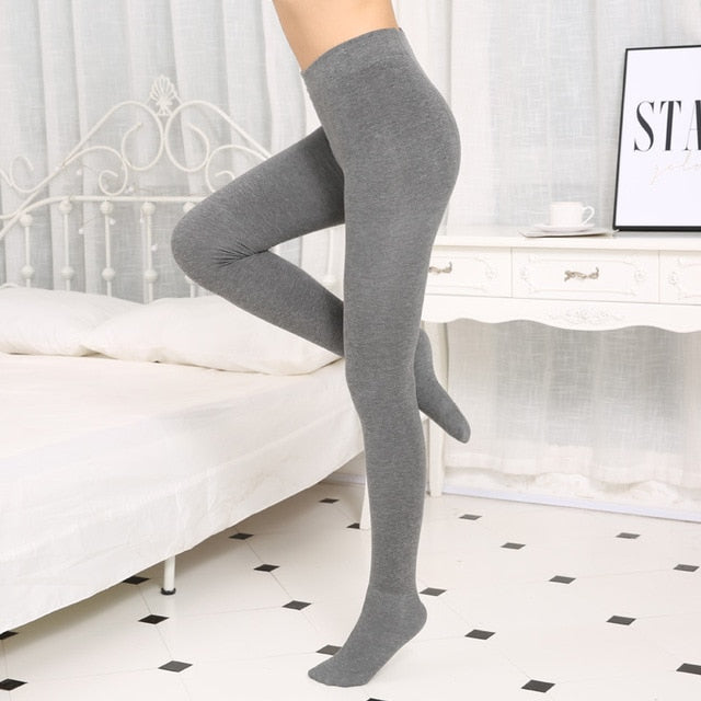 Leggings Women's Black Workout Clothes for Women Autumn Winter New Ladies Cotton Cashmere Leggings Warm Slim-geekbuyig