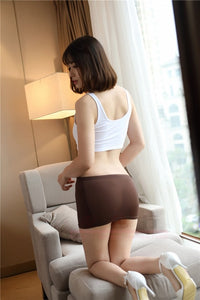 Tight Pencil Cute Skirt Women Sexy See Through Transparent Skirts Night Club Tight Package Short Mini Hip Skirt Black Red 77-geekbuyig