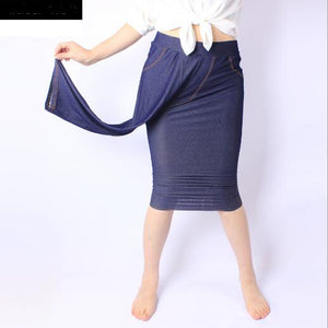 Large Women Pants 2018 Elegant Women Calf-Length Autumn Pants Oversized 3XL 5XL High Waist Sexy Skinny Pencil Trousers M847-geekbuyig