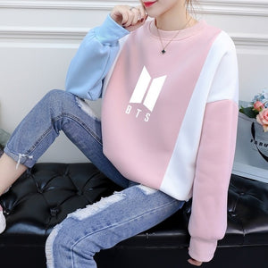 Fans Kpop Bts Bangtan Boy Got7 K-pop Hoodie Women Exo Seventeen Bt21 Idol Sweatshirt Female Love Yourself Hoodies Femme Clothing-geekbuyig