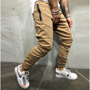 Men Pants Fashion Splicing Multi Pocket Harem Joggers Pants 2018 Male Trousers Mens Joggers Solid Pants Sweatpants Large Size-geekbuyig