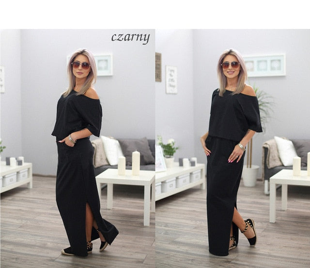 2019 Summer Dress Short Sleeve Maxi Robe Femme Dress Sexy Dress Vestidos Club Party Dresses Elegance Vestidos De Festa-geekbuyig