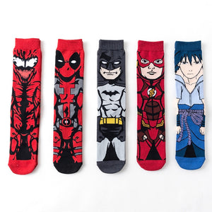 Star Wars storm troops socks Marvel Comics Hero Batman Flash Sasuke Avengers personality funny MEN Socks-geekbuyig
