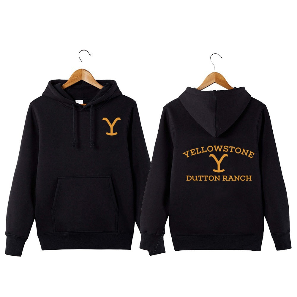 Kevin Costner Tv Series Yellowstone Hoodie Yellowstone Dutton RANCH Hoodie Sweatershirt Wyoming Montana Cow Boys Hoodie-geekbuyig