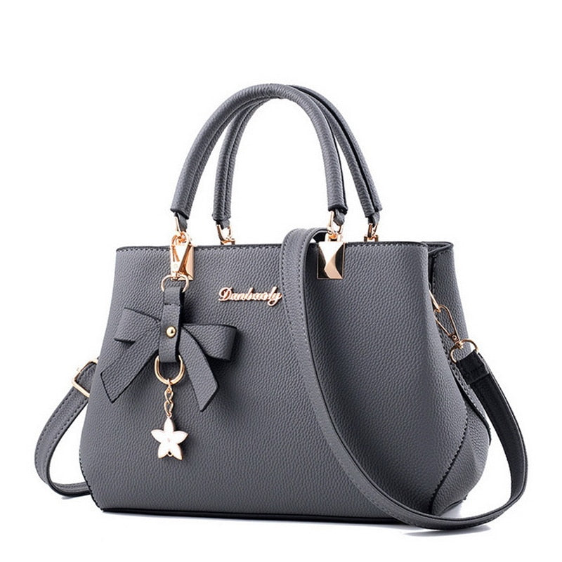 WENYUJH New 2018 Shoulder Bag Women Designer Luxury Handbags Women Bags Plum Bow Sweet Messenger Crossbody Bag Women Dropship-geekbuyig