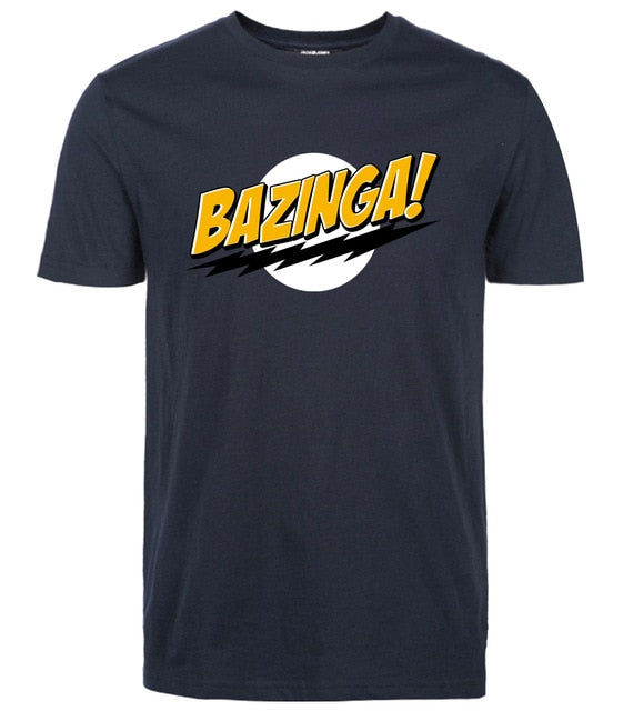 funny t shirt The Big Bang Theory Bazinga 2019 summer casual Fashion streetwear men tops tees cool streetwear brand clothing-geekbuyig
