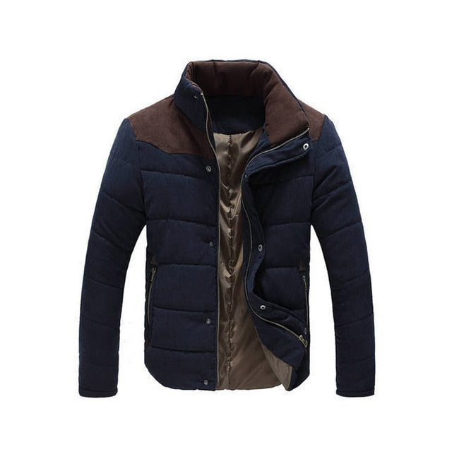 2019 Winter Jacket Men Warm Causal Parkas Cotton Coat Male Outwear Coat Size M-4XL-geekbuyig