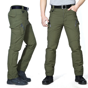 Tactical Cargo Pants Men Military SWAT Work Pants Army Soldier Paintball Train Trousers Male Casual Many Pockets Thin Pants 3XL-geekbuyig