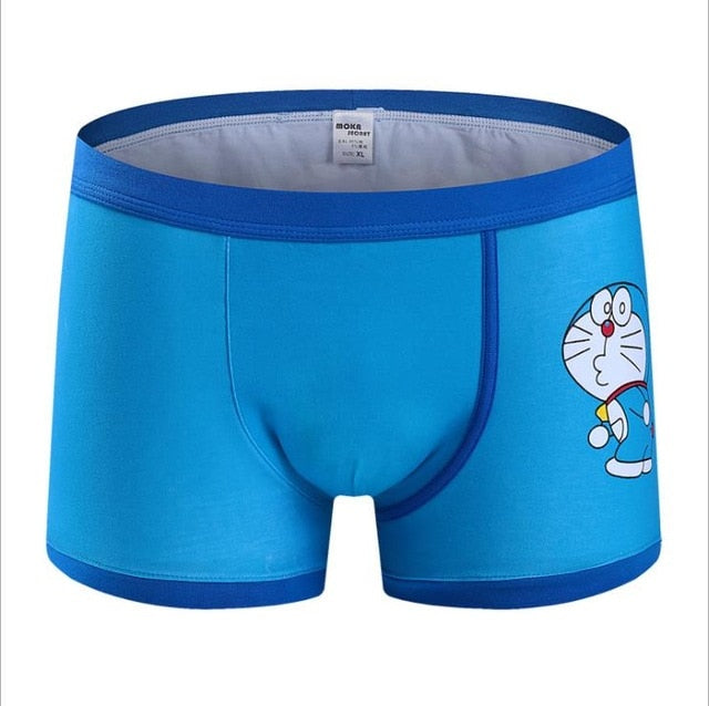 Cartoon Cueca Boxer Cotton young Men Brands Underwear Hombre Panties Male Superman Underwear Mens Trunk sexy Superman Underpants-geekbuyig