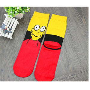 Anime socks men popsoket meias Women's cool Happy socks art women compression socks with print short calcetines hombre-geekbuyig