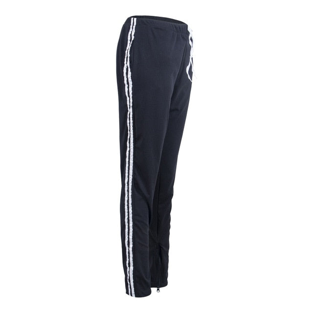 Hirigin Jogger Pants 2018 Newest Brand Mens Slim Fit Tracksuit Bottoms Skinny Jogging Joggers Sweat Pants Couple Trousers-geekbuyig