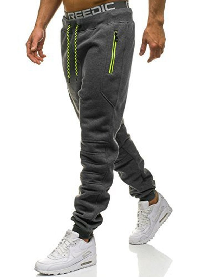 ZOGAA Men Sportswear Pants Casual Elastic Pant For Mens Fitness Workout Pants Loosen Sweatpants Trousers Jogger Pants-geekbuyig