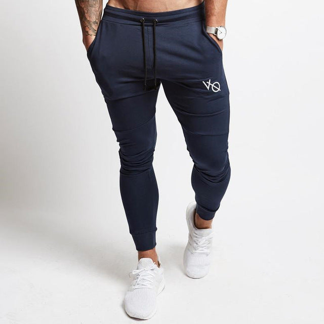 2019 New Mens Pants Gyms Fitness Sweatpants Male Bodybuilding Workout Casual Elastic Cotton Brand Trousers Joggers Pants-geekbuyig