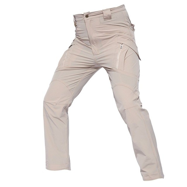 2018 City Tactical Cargo Pants Men Combat Army Military Pant Autumn Cotton Pockets Stretch Flexible Man Casual Long Trousers-geekbuyig