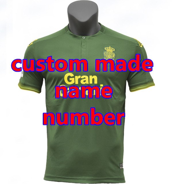 18 19 UD Las Palmas Casual shirts 2018 2019 Las Palmas shirts New Leisure Best Quality Casual free shipping-geekbuyig