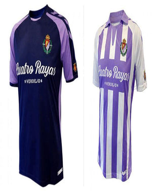 18 19 Real Valladolid Casual shirts 2018 2019 Real Valladolid shirts Leisure Best Quality-geekbuyig