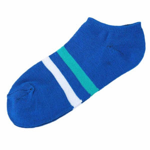 Fashion 1Pair Unisex Comfortable Stripe Cotton Sock Slippers Short Ankle Socks jy17-geekbuyig