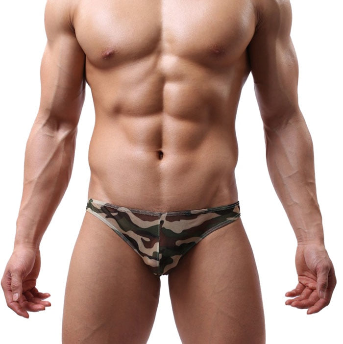 #5 2018 Men Transparent Ultra-Thin Breathable Big Underwear Sexy Underwear-geekbuyig