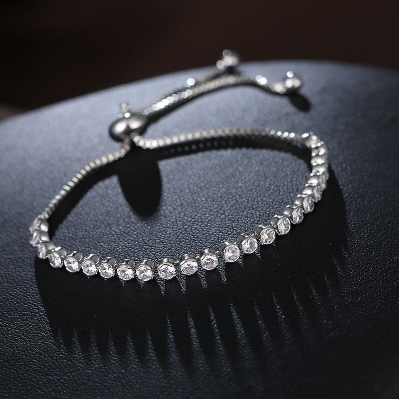 wholesale 2019 New Charm Beads Crystal from Austrian Bracelet for Women Authentic Jewelry Fine girl Gift-geekbuyig