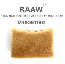 Load image into Gallery viewer, Raaw -  Unscented Goat Milk Soap