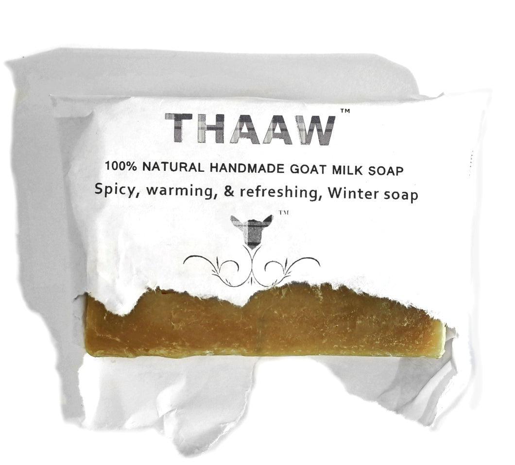 Thaaw - Spicy, warming, refreshing, Winter Soap