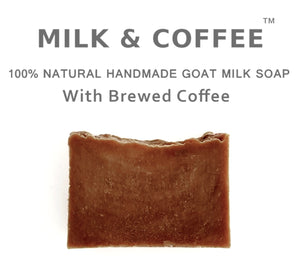 Milk & Coffee -BAACK IN STOCK SOON! Goat Milk Soap with Brewed Coffee