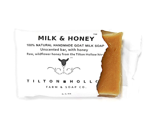 Milk & Honey - Unscented Goat Milk Soap with Honey