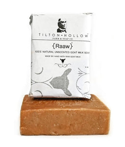 Raaw -  Unscented Goat Milk Soap