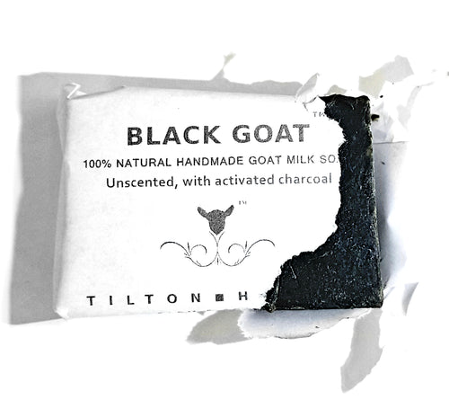 Black Goat - With Activated Charcoal. Unscented