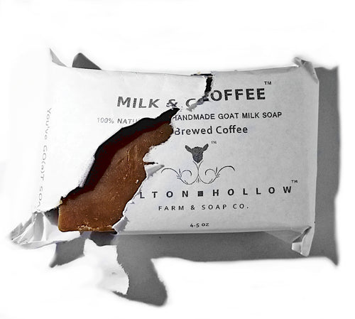 Milk & Coffee -Goat Milk Soap with Brewed Coffee