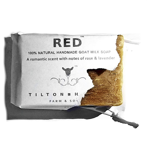 Red - Goat Milk Soap with notes of Rose & Lavender