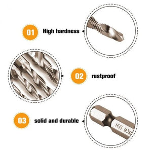 COMPOSITE TAP DRILL BIT (6pcs. Set)