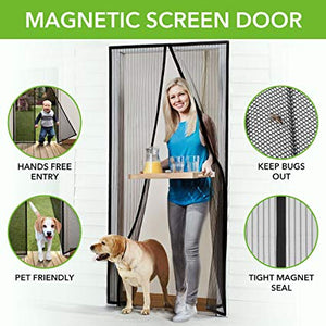 MAGIC MAGNETIC SCREEN DOOR (BUY 1 GET 2 FREE)