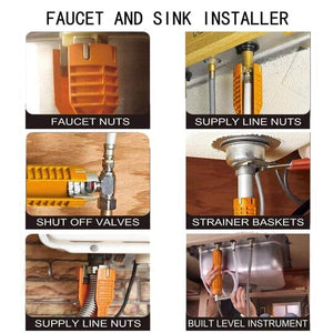 FAUCET AND SINK INSTALLER TOOL