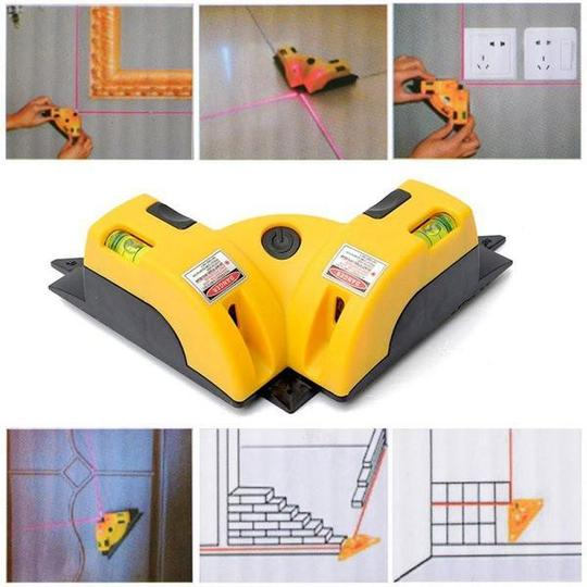 RIGHT ANGLE 90 DEGREE SQUARE LASER RULER