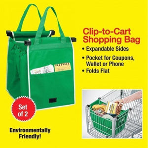Clip-to-Cart Smart Bag (2pc./set)