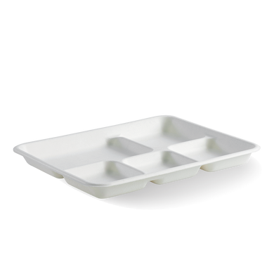 5-Compartment BioCane Tray - B-TL-15