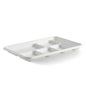 6-Compartment BioCane Tray - B-TL-16