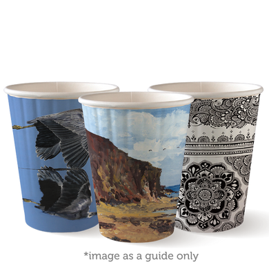12oz Double Wall BioCup - BC-12DW-ART SERIES