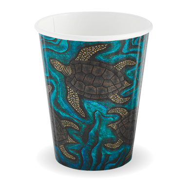 12oz Double Wall Indigenous BioCup - BC-12DW-CCAB