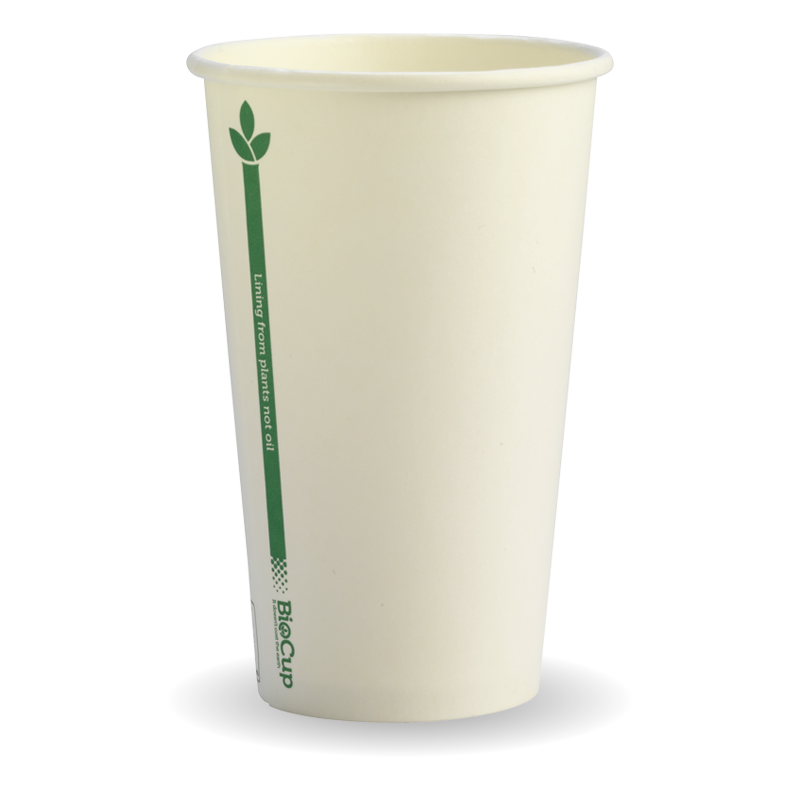 12oz 80mm BioCup – Single Wall - BC-12(80)-GL
