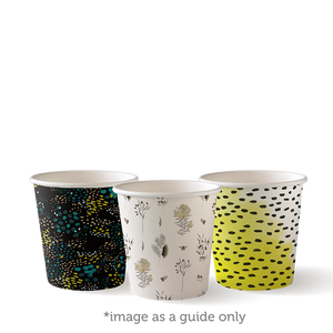 4oz Single Wall BioCup - BC-4-ART SERIES