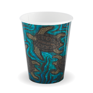 8oz Double Wall Indigenous BioCup - BC-8DW-CCAB