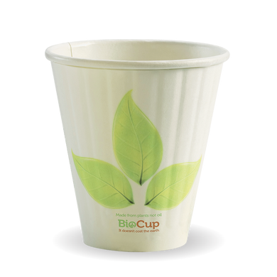 8oz (90mm) Double Wall BioCup - BC-8DW(90)