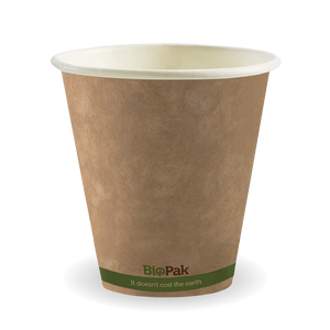 8oz (90mm) Single Wall BioCup - BCK-8-GS(90)