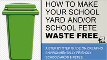 Make Your School Yard And Fetes/Events Waste Free Resources (Includes Bin Signs) - Digital Download