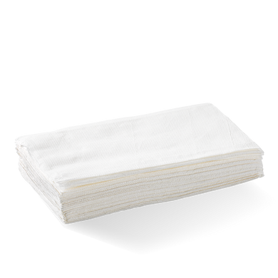 1 Ply Single Saver BioDispenser Napkin - L-SSDN-W