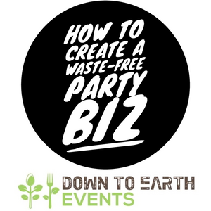 Create a Waste-Free Party Business - A How To Guide (Includes Bin Signs) - Digital Download
