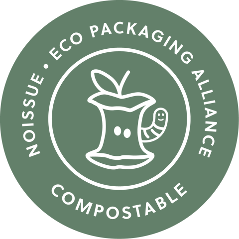 Noissue compostable Eco packaging