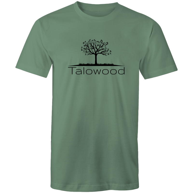 TALOWOOD PLAIN TREE LOGO- MENS & WOMENS T-SHIRT